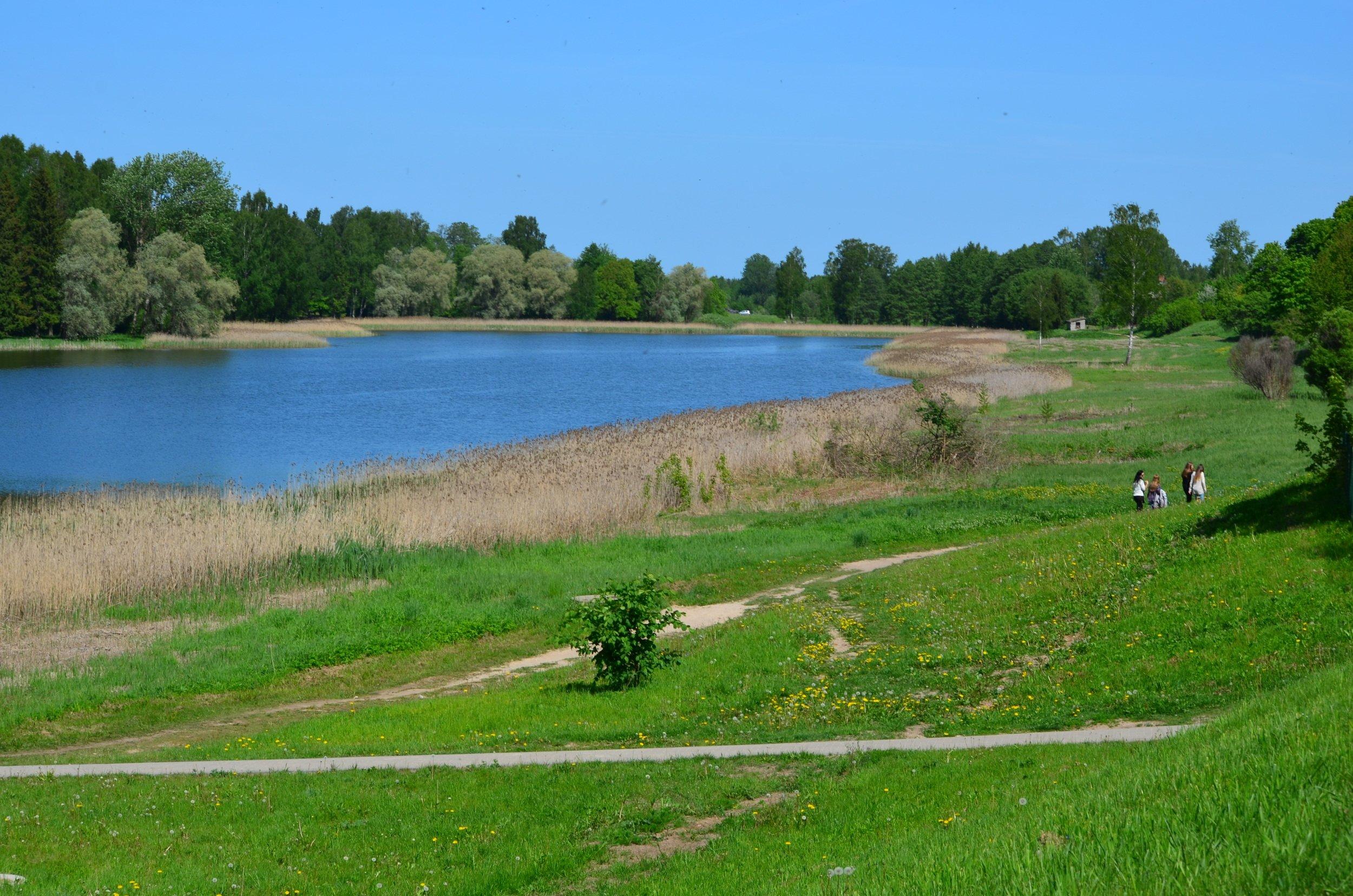 Vilkmuižas ezera apkārtnes nākotnes plāns
