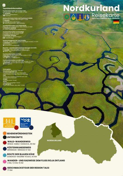 ZKurzemes kartes vāks DE